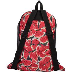speedo Deluxe Ventilator Bolsa de red L, black/soft coral